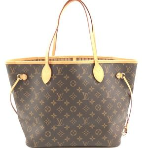 Neverfull Neo Brown Monogram Canvas Shoulder Bag